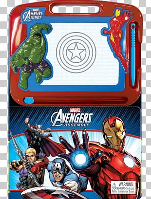 Iron Man The Avengers Film Series Captain America Spider-Man Book PNG