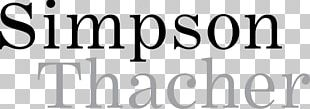 Simpson Thacher & Bartlett Logo Limited Liability Partnership Law PNG