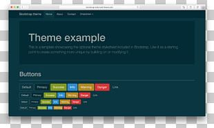 Bootstrap Cascading Style Sheets Bower Template PNG