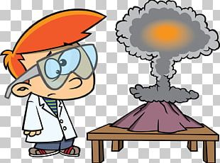 Experiment Science Project Laboratory Cartoon Scientist PNG