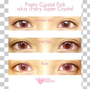 Circle Contact Lens Red Contact Lenses Color Fairy PNG