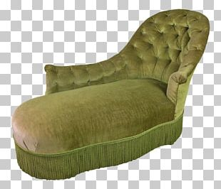 Chaise Longue Chair Couch Tufting Upholstery PNG