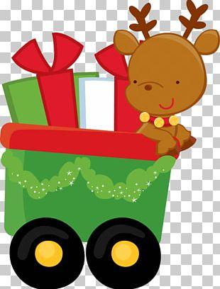 Reindeer Santa Claus Rudolph Ded Moroz PNG