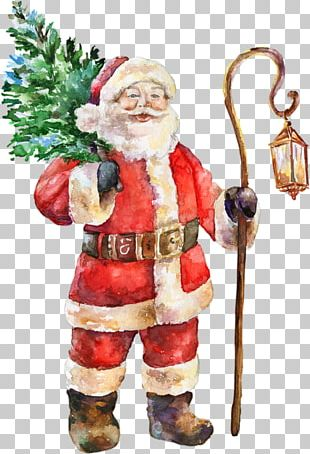 Santa Claus Christmas Graphic Design PNG