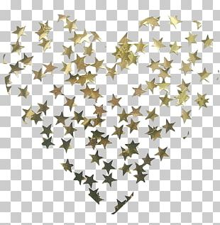 Star Gold Glitter Stellar Atmosphere Light PNG