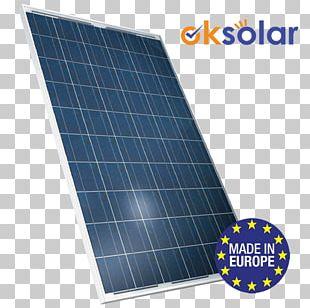 Solar Panels Polycrystalline Silicon Photovoltaics Solar Energy Capteur Solaire Photovoltaïque PNG
