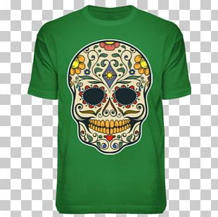 Calavera T-shirt Mexico Day Of The Dead Death PNG
