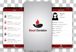 Mobile App Development Blood Donation Health Care Mobile Phones PNG