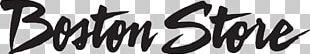 Logo Coupon Boston Store Calligraphy Price PNG