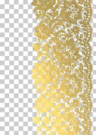 Light Gold Wedding Photography Lace PNG