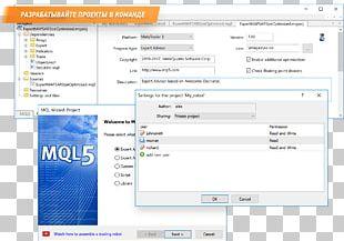 MetaTrader 4 MetaQuotes Language MQL4/MQL5 Directory