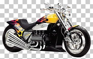 Custom Motorcycle Chopper Honda Car PNG