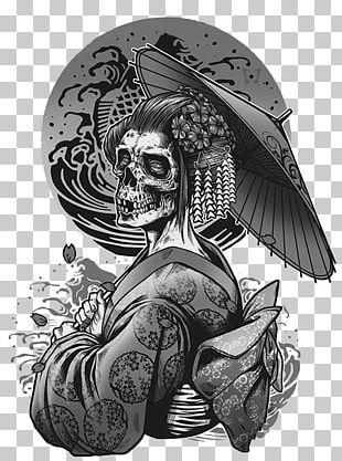 Geisha Tattoo Png Images Geisha Tattoo Clipart Free Download