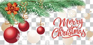 Christmas Tree Christmas Ornament Banner PNG