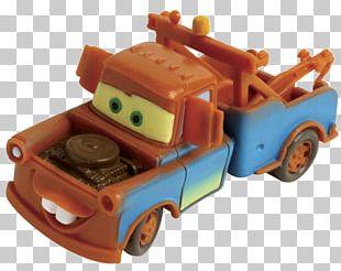 Mater Lightning McQueen Model Car Bullyland PNG