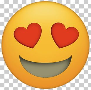 Emoji Heart Emoticon Eye PNG
