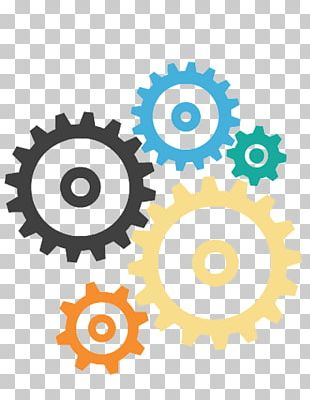 Gear Microsoft PowerPoint Diagram PNG