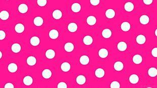 Polka Dot High-definition Video Desktop Pink PNG