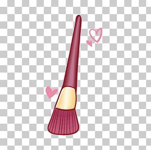 Makeup Brush Make-up Cosmetics Drawing PNG