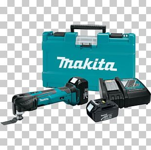 Makita XMT035 18V LXT Lithium-Ion Cordless Multi-Tool Kit PNG