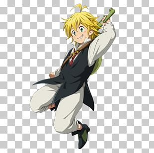 Meliodas The Seven Deadly Sins Cosplay PNG