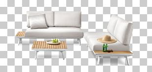 Table Garden Furniture Couch Sofa Bed PNG