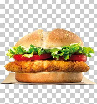 TenderCrisp Chicken Sandwich Chicken Fingers Hamburger Burger King Specialty Sandwiches PNG