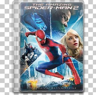 Emma Stone The Amazing Spider-Man 2 Blu-ray Disc Electro PNG