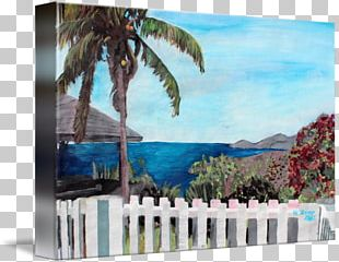Painting Canvas Print Gallery Wrap Art PNG