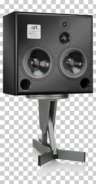 Studio Monitor Loudspeaker Powered Speakers Audio High Fidelity PNG