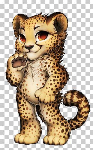 Cheetah Leopard Jaguar Tiger Lion PNG