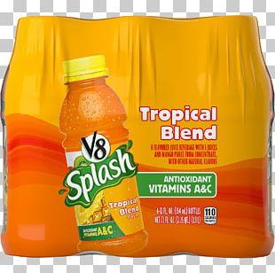 Orange Drink V8 Splash Juice Drinks Tropical Blend V8 Splash Juice Drinks Tropical Blend Orange Juice PNG