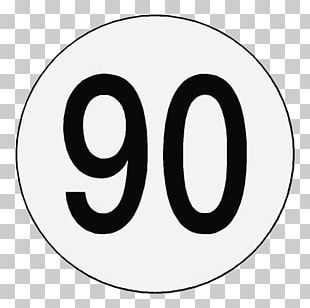 Speed Limit Dual Carriageway Number Sticker Kilometer Per Hour PNG