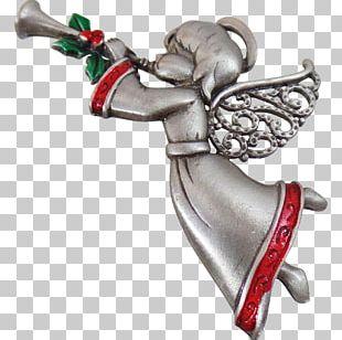 Cherub Angel Christmas Trumpet Holiday PNG