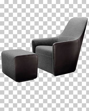 Eames Lounge Chair Furniture Foot Rests PNG