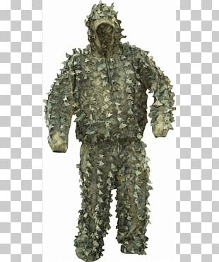 Military Camouflage Ghillie Suits Clothing PNG
