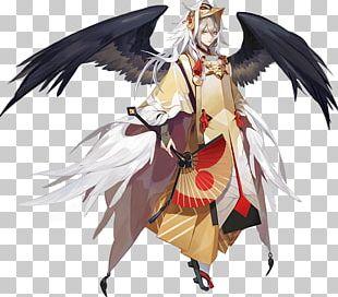 Onmyoji Arena Tengu Character Fan Art PNG