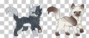 Whiskers Cat Dog Drawing Warriors PNG