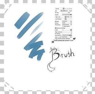 Calligraphy Paint Tool SAI Brush Logo Painting PNG