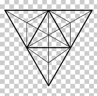 Sacred Geometry Triangle PNG