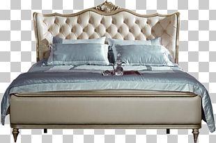 Bed Frame Furniture Bedroom Box-spring PNG