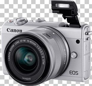 Canon EOS M Mirrorless Interchangeable-lens Camera Canon EF-M 15–45mm Lens Photography PNG