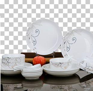 Plate Ceramic Tableware Bowl PNG