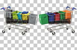 Shopping Cart Reusable Shopping Bag Shopping Bags & Trolleys PNG