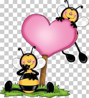Honey Bee Bumblebee Love PNG