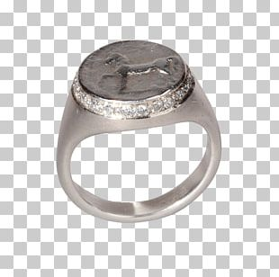 Ring Diamond Jewellery Brilliant Chevalière PNG