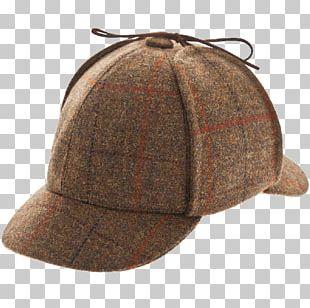 Top Hat Deerstalker Cap PNG