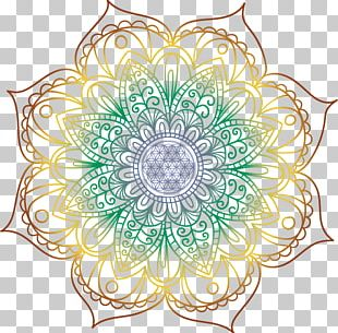 Mandala Floral Design Chakra Coloring Book Space Invaders PNG