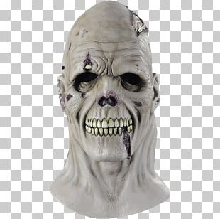 Latex Mask Halloween Costume PNG