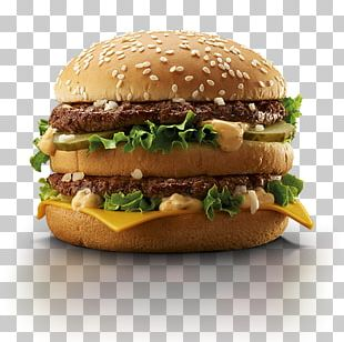 Cheeseburger McDonald's Big Mac Whopper Breakfast Sandwich Hamburger PNG